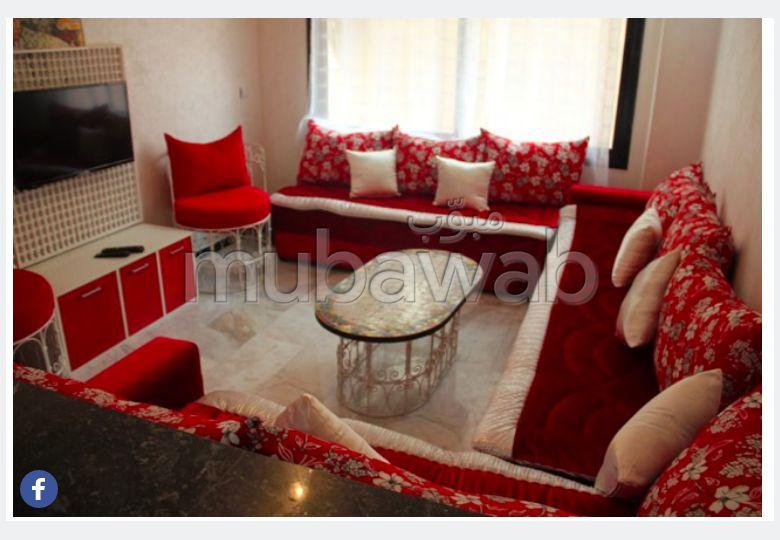 Joli appt F2 loué meublé dans une résidence neuf