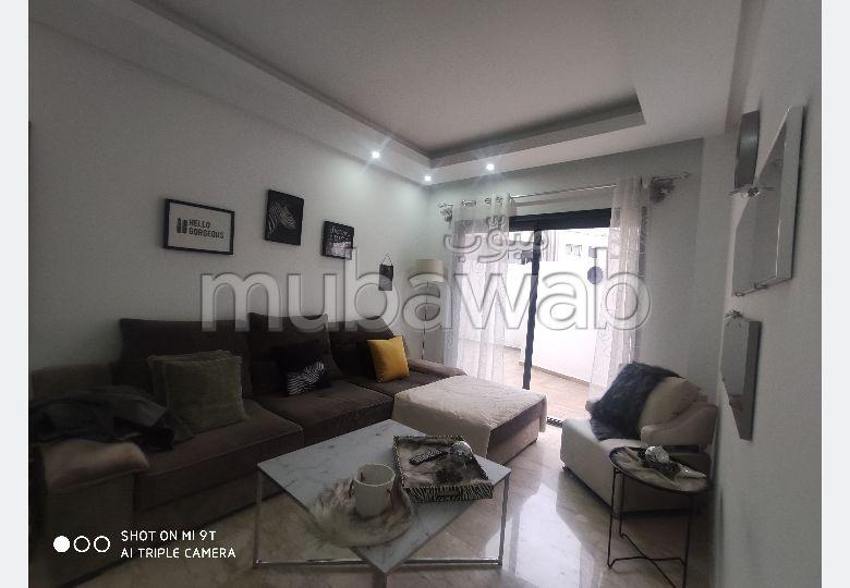 Superbe appartement à louer à Casablanca. 1 Pièce. Bien meublé