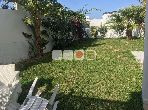 A louer Duplex S2 meublé avec jardin à Gammarth