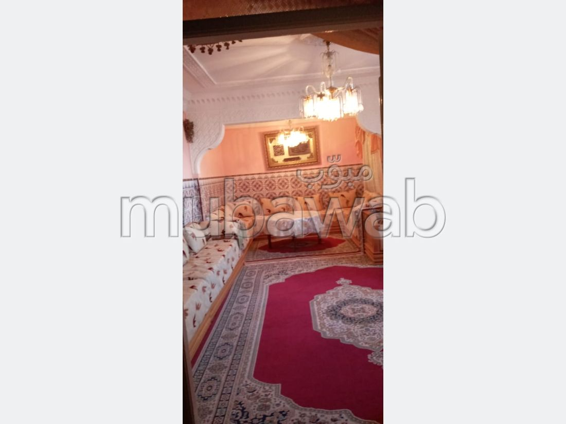 Beautiful house for sale. 3 Living room. Traditional Moroccan living room.
