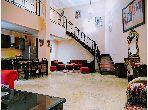 شقة للإيجار بمراكش. المساحة الكلية 60.0 م². صالون مغربي تقليدي ، إقامة آمنة.