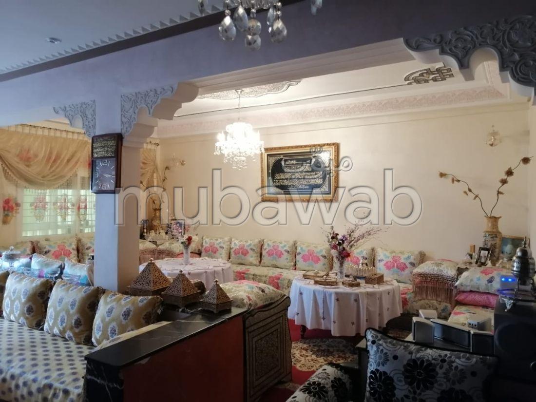 شقة للشراء بفاس. 5 قطع كبيرة. شرفة.