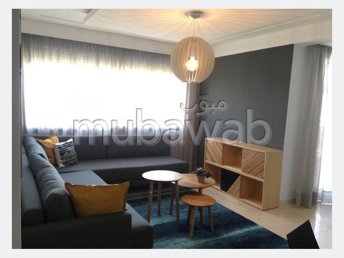 بيع شقة ببوسكورة. 2 غرف رائعة. باب متين،إقامة محروسة.