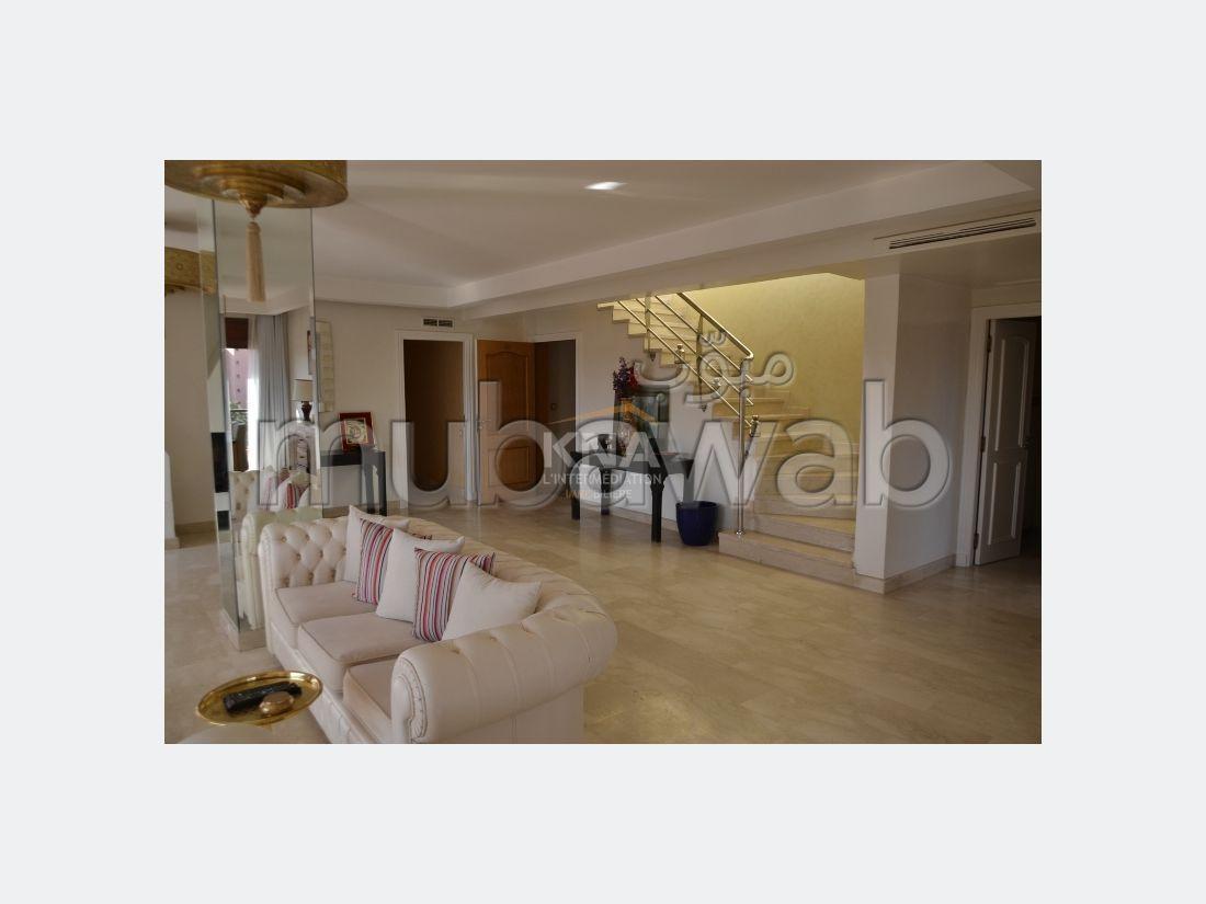 شقة للإيجار بمراكش. 2 غرف جميلة. مكيف للهواء وحوض للسباحة.