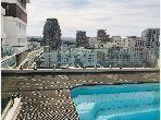 Très bel appartement moderne jamais habité avc terrass sans vis à vis situé à casa city finance