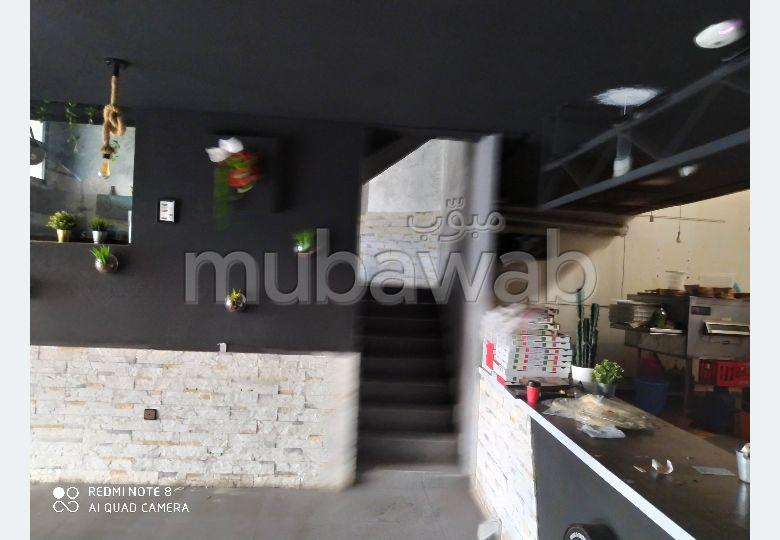 Rabat magasin de 150m² à louer à place piétri