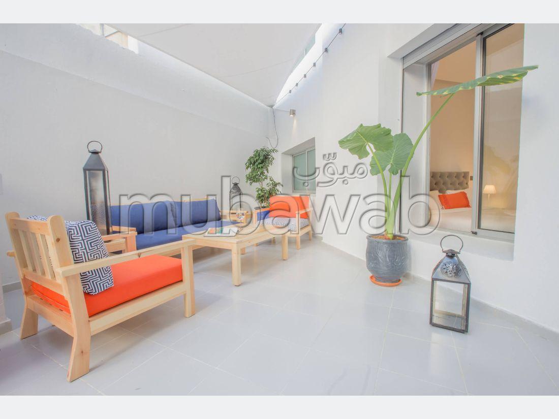 Appartement Agdal avec Terrasse + Garage + Netflix