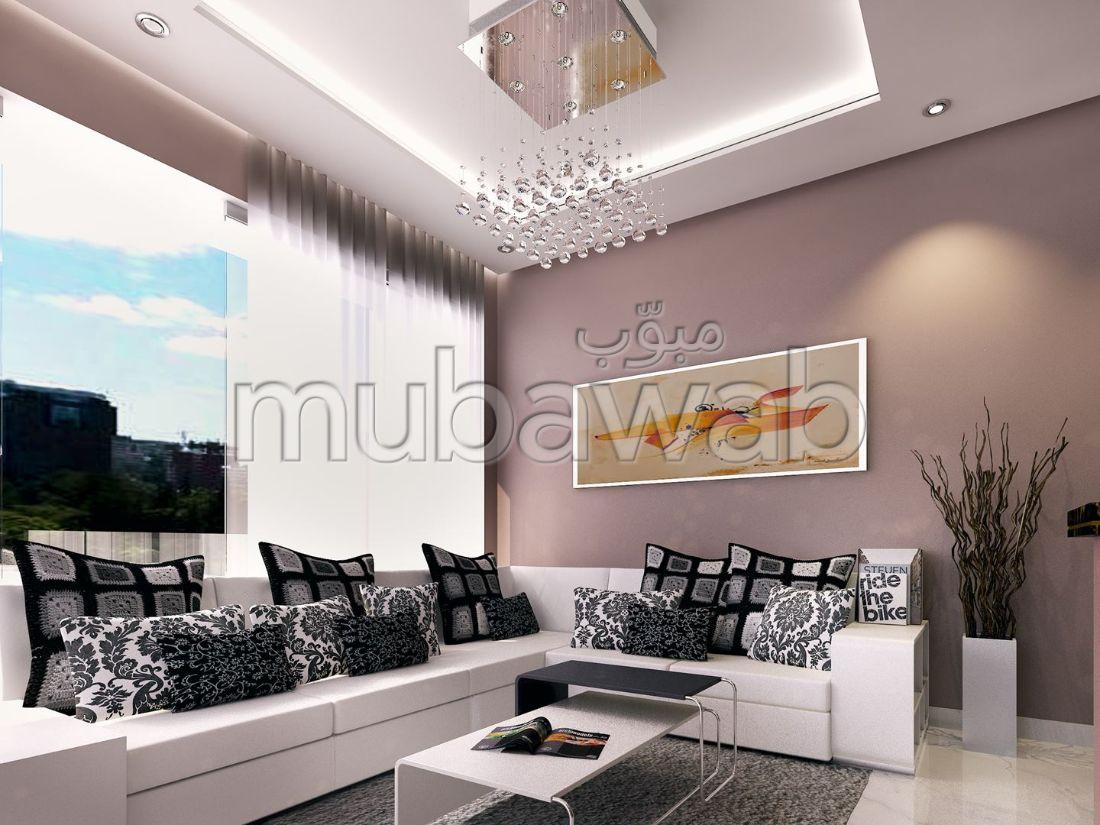 شقة رائعة للبيع بطنجة. المساحة 60.0 م².