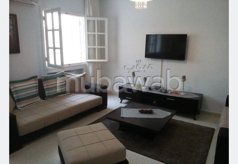 Un RDC meublé à louer à Sidi Bousaid