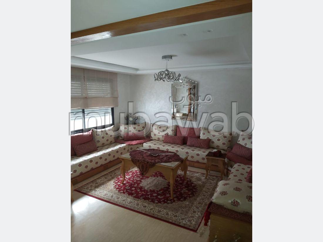 منزل رائع للبيع بالدارالبيضاء. 5 غرف رائعة. زجاج مزدوج وباب قوي.