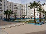 Louez cet appartement à Agadir. 2 chambres. Ascenseur et stationnement.