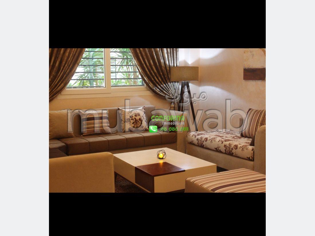 Appartement meublé s2 à manzah 7 à côté ennaser 2