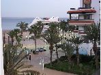 Louez langu durée appartement à Agadir. 3 pièces. Bien meublé