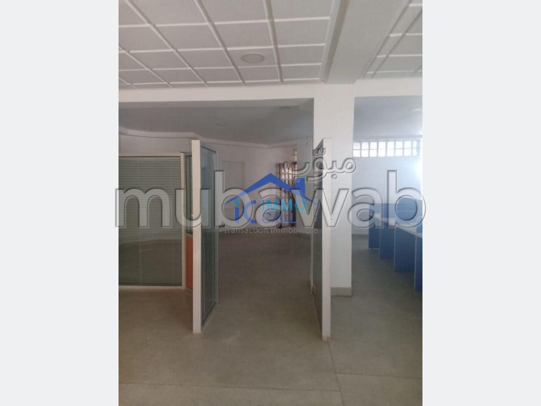 Apprt BUREAU au RDC en location situé AGDAL
