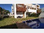 Superbe villa meublée 4 ch à louer sur Bouskoura Green Town
