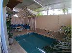 Bel appartement meublé avec piscine priveé