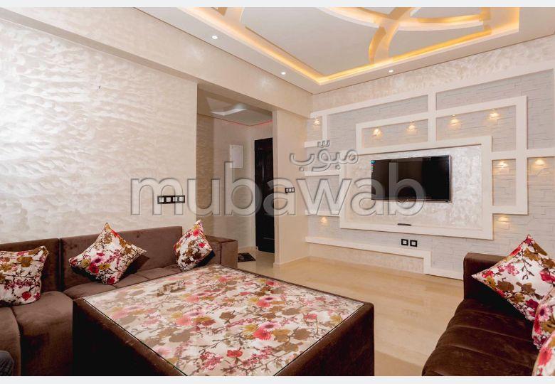 شقة للإيجار بمراكش. المساحة الإجمالية 68.0 م². مسبح  وخدمة الكونسياج.