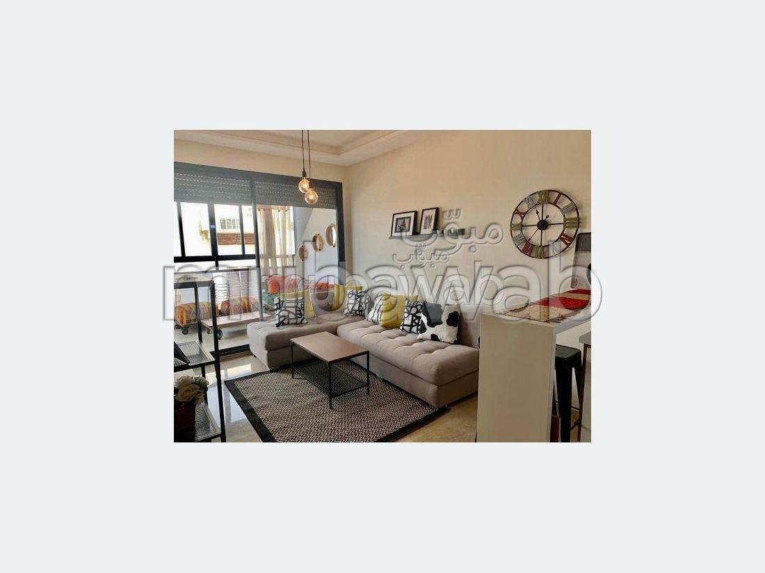 Rent this apartment. Total area 55 m². Furnished.