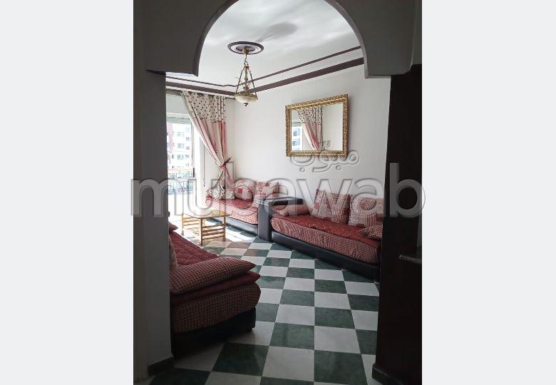 شقة رائعة للايجار بطنجة. المساحة 80 م². مفروشة
