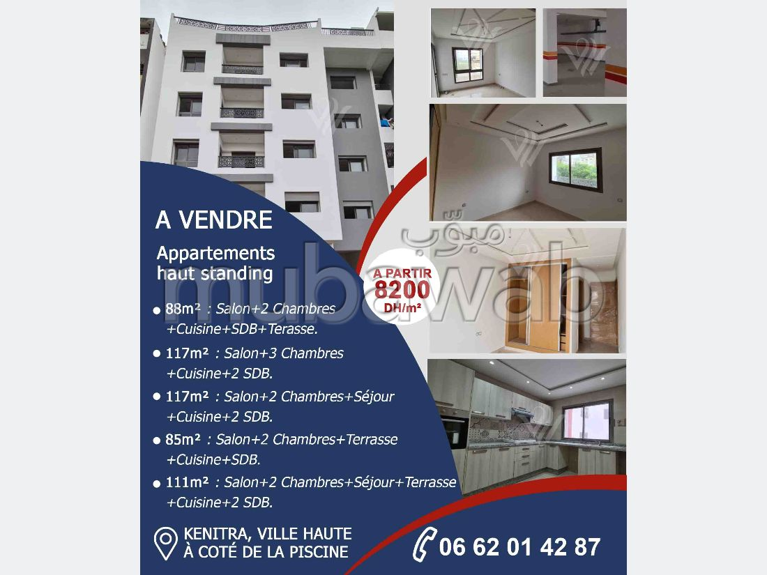 Appartements neuf a vendre