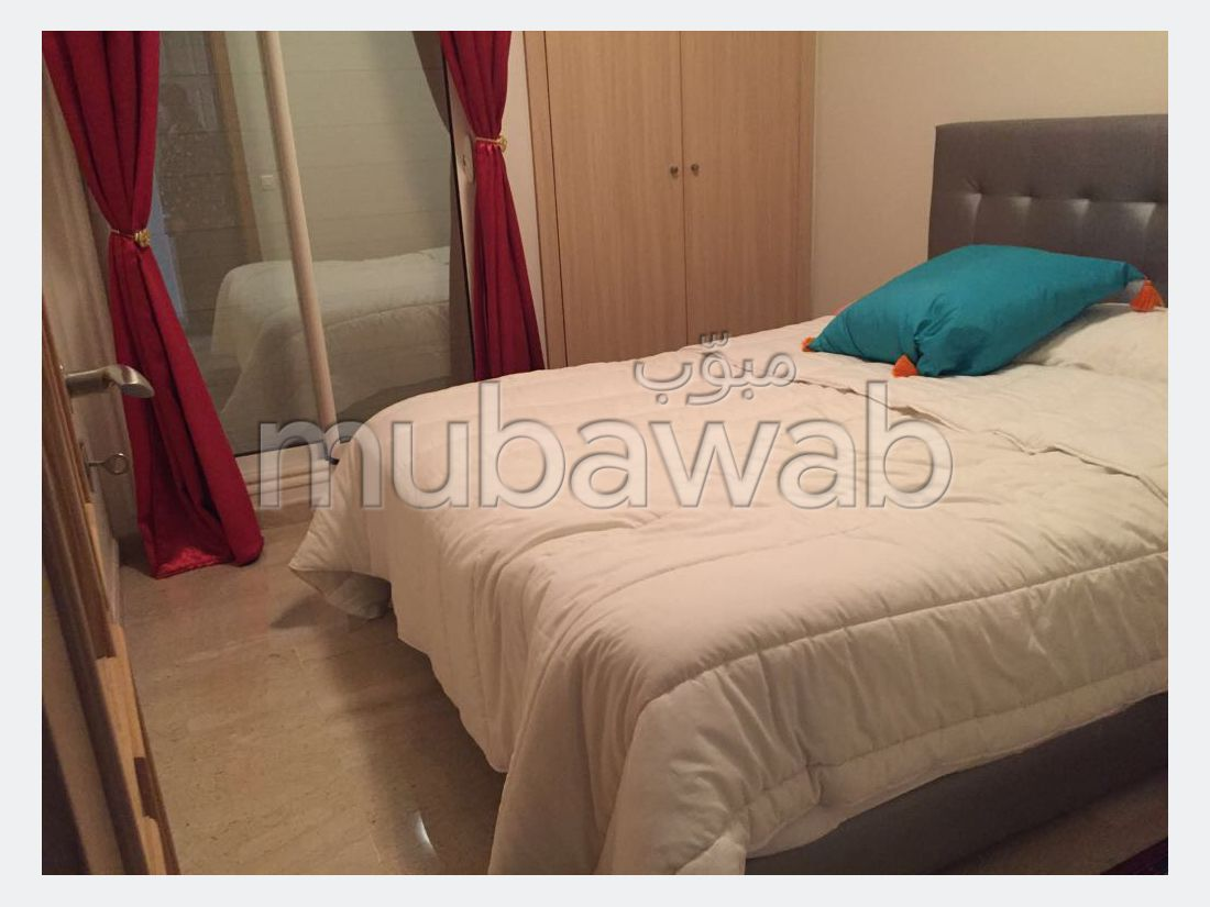 Louez cet appartement à Casablanca. Surface de 75.0 m². Meublé