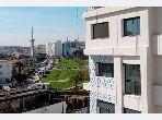 شقة رائعة للبيع بطنجة. المساحة 124.0 م². صالون أوروبي.