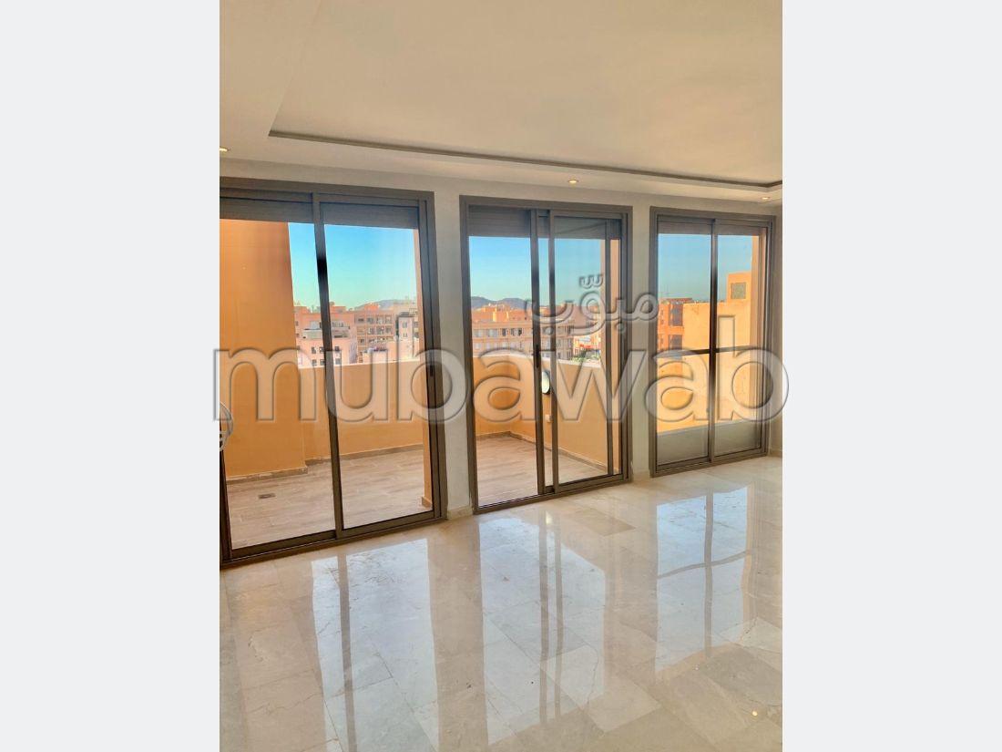 Vend appartement à Marrakech. Surface totale 66 m². Double vitrage et porte blindée