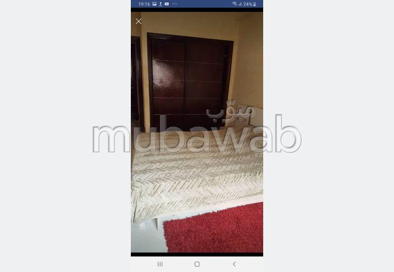 شقة للكراء بمراكش. المساحة الكلية 56.0 م². باب متين،إقامة مؤمنة.