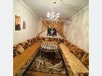 شقة للإيجار بمراكش. 2 غرف جميلة. صالون مغربي، و خدمة الأمن والحراسة.