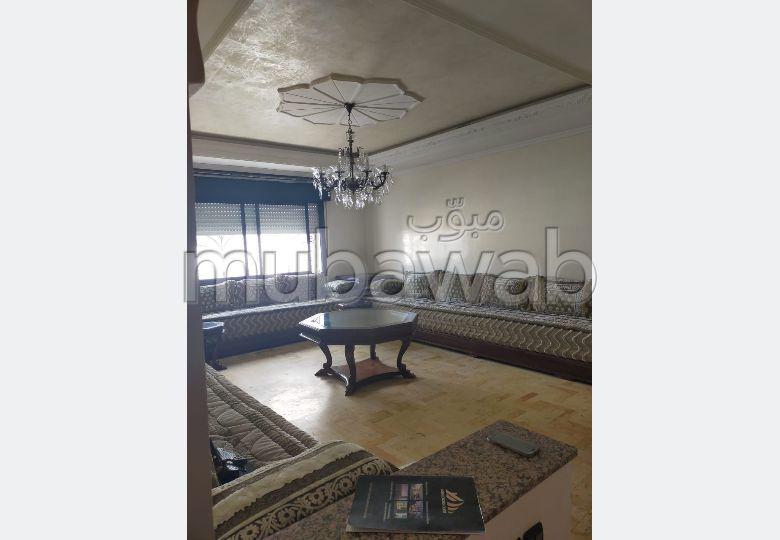 شقة جميلة للكراء بطنجة. 3 غرف. مفروشة.