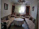 شقة رائعة للبيع بفاس. 3 قطع. صالون مغربي نموذجي ، إقامة آمنة. حي الادارسة فاس