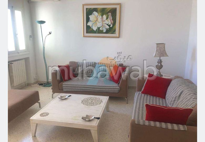 A louer un appartement s+2 meublé au Ennasr 1