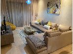 Very nice apartment for rent in Agdal. Large area 80.0 m². Furnishings.