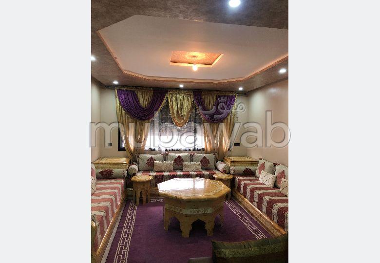 شقة للإيجار بوسط المدينة. المساحة 115.0 م². مفروشة.