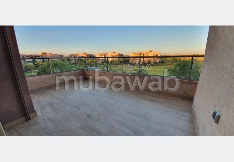 Superbe appartement à louer à Marrakech. 3 belles chambres. Terrasse et ascenseur