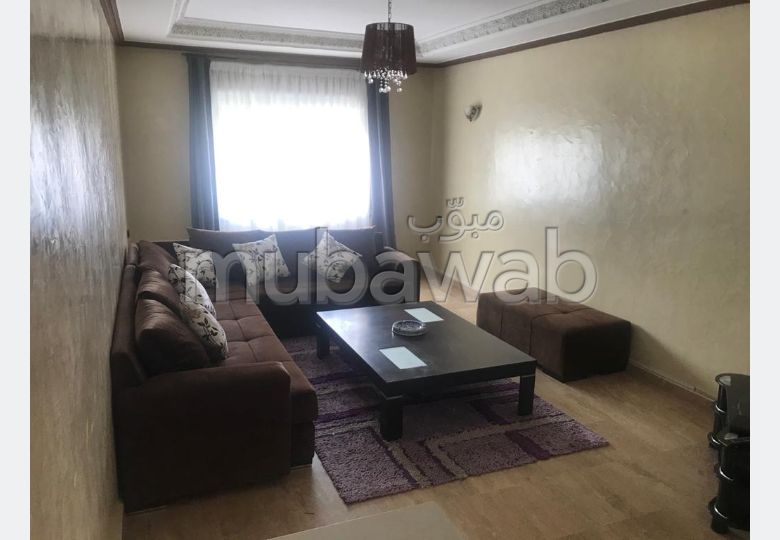 Rent this apartment in Tanger City Center. 3 large rooms. Ample storage space.