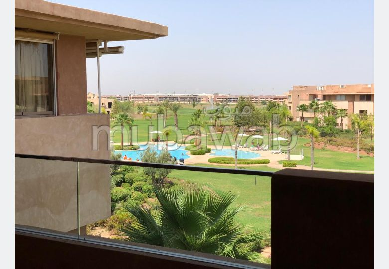 Great apartment for rent in Ennakhil (Palmeraie). 2 Large room. Ample storage space.