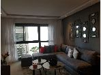 Find an apartment for rent in Casablanca Finance City. 2 living areas.