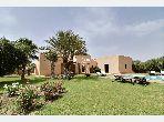 Maison à vendre à 5 minutes des golfs à Marrakech