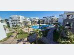 Location d'un appartement à Agadir. Surface de 76.0 m². Résidence avec concierge, climatisation générale