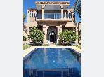 Villa de haut standing à louer à Marrakech. Superficie 1000 m². Meublée