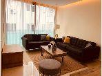 شقة رائعة للإيجار ب أنفا العليا. المساحة الكلية 50.0 م². أماكن لوقوف السيارات وحديقة جميلة.