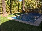 High quality villa for rent in Anfa Supérieur. Large area 800 m². Private garden, Cellar.