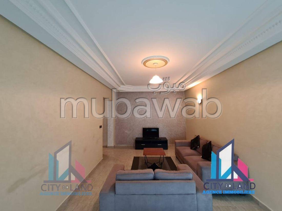 Appart meublé à louer au centre de Tanger