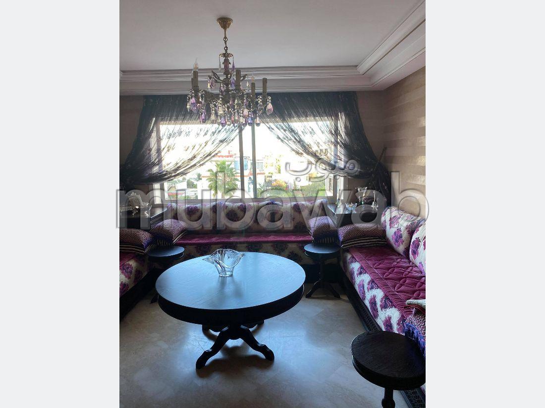 Appartement en plein boulevard Abdelmoumen