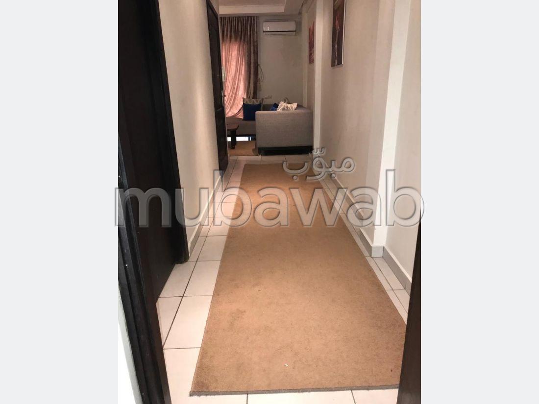 Location d'un appartement à Marrakech. Surface de 50.0 m². Meublé