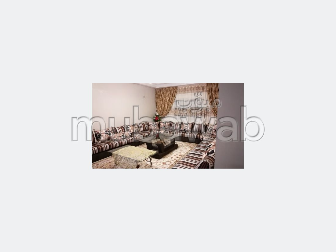 Apartment to purchase. 3 Rooms. Traditional Moroccan living room, Secured neighbourhood.