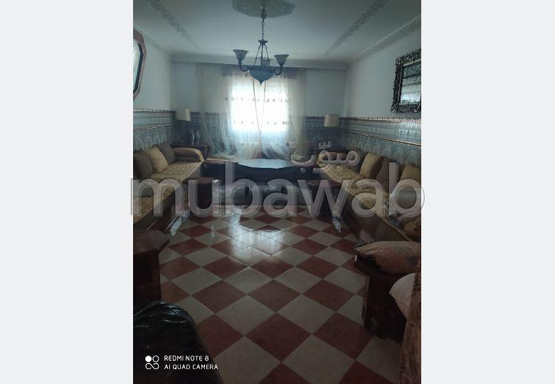 Appartement en location à Tanger. 4 grandes pièces. Meublé