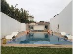 Beautiful villa for rent in Ain Diab. 5 Large room. Furnished.