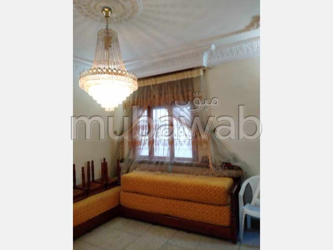 Apartment for sale in Dar El Lhamra. Area 74 m². Double glazing and reinforced door.